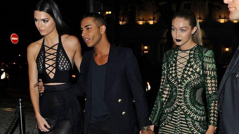 Kendall Jenner deslumbró con su atrevido look en París (5)