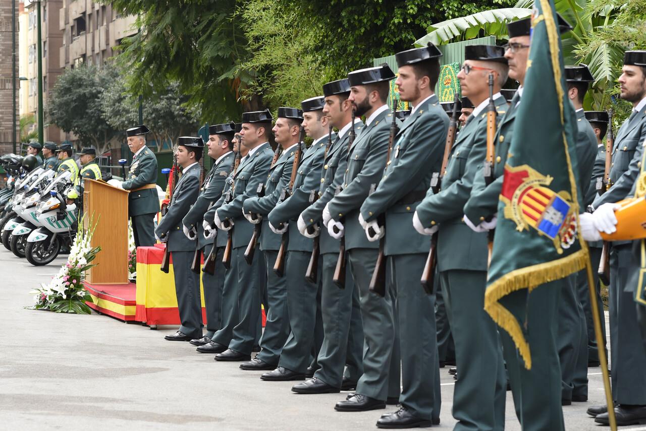 L'Ajuntament de Castelló participa de la Festivitat de la Verge del Pilar, guardia civil (2)