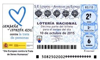 LOTERÍA NACIONAL sorteo especial de octubre sábado 3 de octubre
