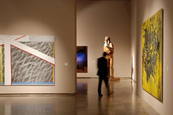 La 'Colección Aena de Arte Contemporáneo' se exhibe en el Centro del Carmen.
