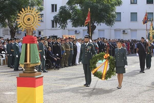 La Guardia Civil celebra el Día del Pilar en Valencia.