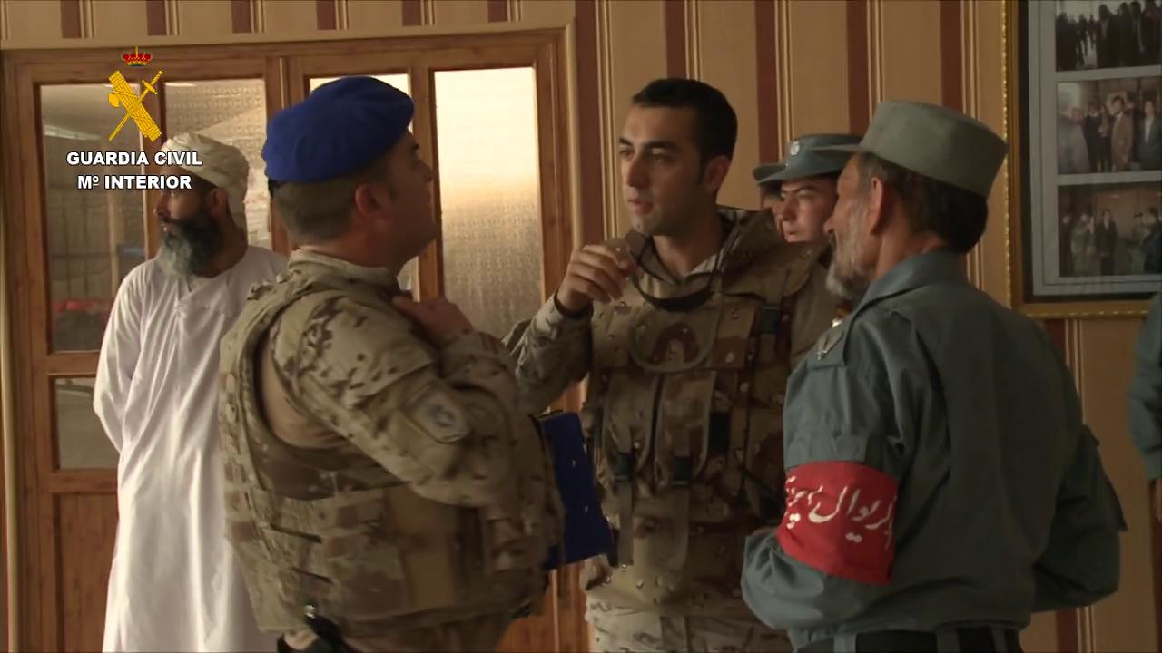 La Guardia Civil finaliza su misión de asesoramiento a la Policía afgana (1)