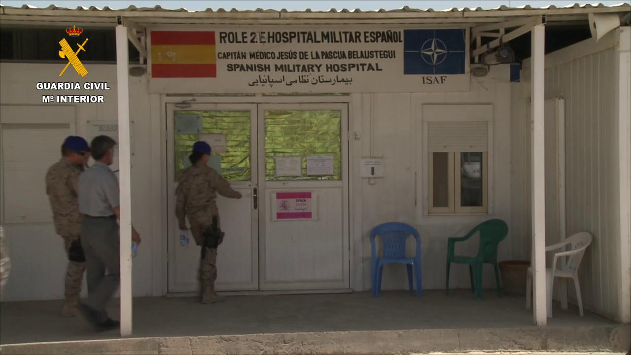 La Guardia Civil finaliza su misión de asesoramiento a la Policía afgana (2)
