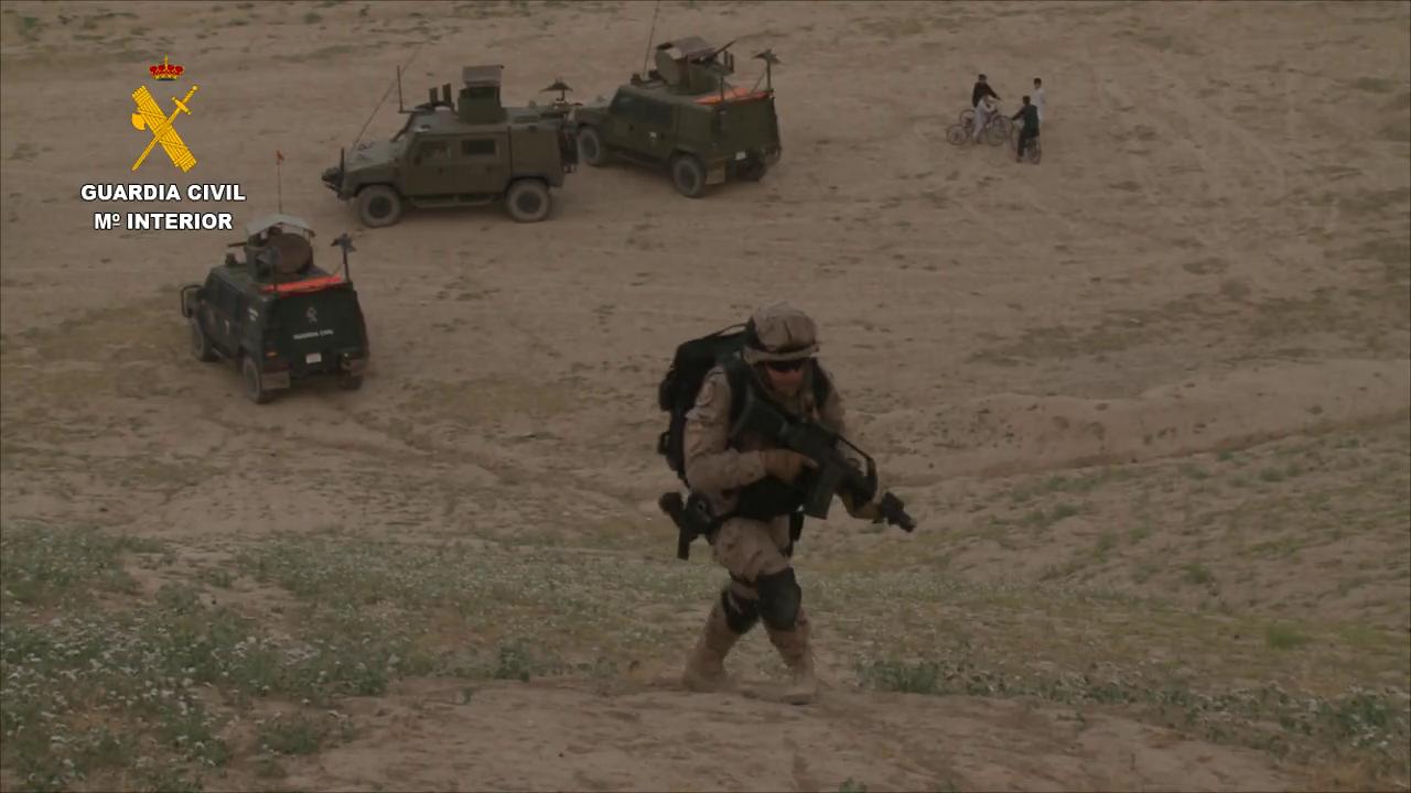La Guardia Civil finaliza su misión de asesoramiento a la Policía afgana (3)