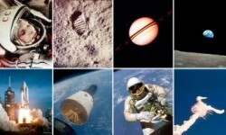 La NASA publicó 9.000 fotos inéditas de las misiones Apolo (2)