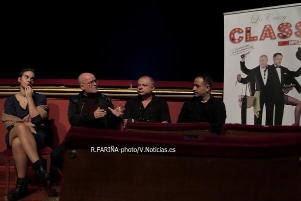 La compañía Imprebís sube al Teatro Talía 'La crazy class'.
