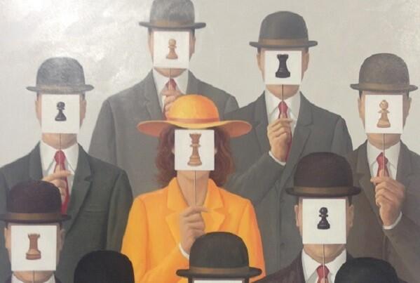 La exposición del III Concurso de Pintura  culmina el Festival de Ajedrez Valencia Cuna.