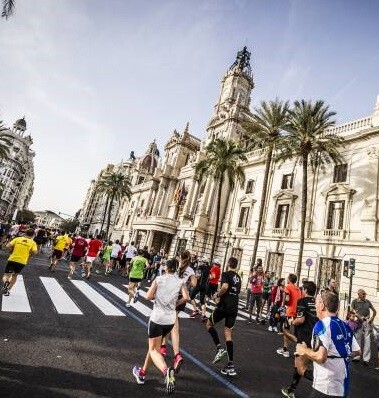 La prueba está considerada como el medio maratón más rápido de España.