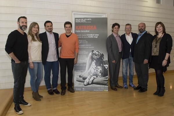 Les Arts estrena una producción de 'Katiuska' con precios populares (Foto-Tato Baeza).