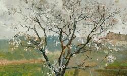 Más de 13.700 euros recaudados para comprar el cuadro de Sorolla 'Almendro en flor'.