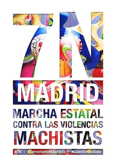 Marcha 7N Contra las Violencias Machistas - de Chiva a Madrid - copia