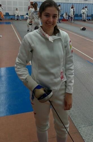 Miriam Muñoz participará en el primer TNR Senior de Espada Femenina.