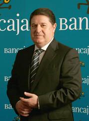 Olivas durante su etapa como presidente de Bancaja.