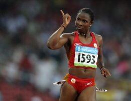 Onyia, de 29 años ya fue sancionada en dos ocasiones.