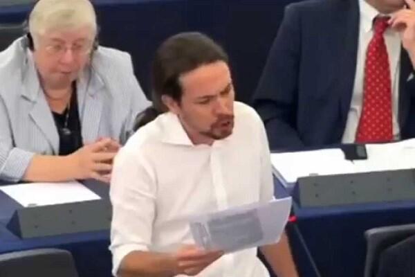 Pablo Iglesias deja el Parlamento Europeo para centrarse en la campaña electoral.