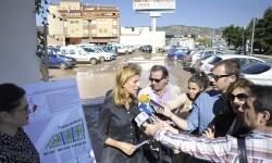Parking de l'hospital general presentació millora zona verda 07