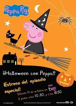 Peppa Pig estrena un capítulo especial en Halloween