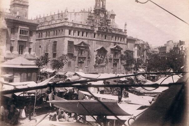 Plaza del Mercado, ca. 1915
