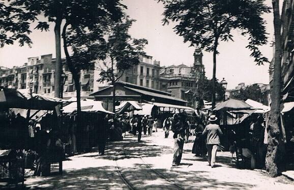 Plaza del Mercado. Ca. 1916.