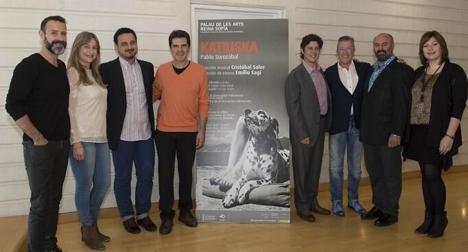 Presentación de la zarzuela. (Foto-Tato Baeza).