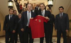 Presentacion Partido Futbol España-Inglaterra