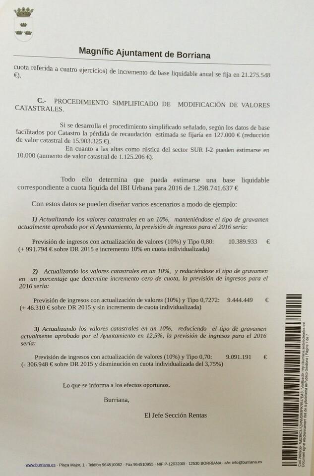 Propuesta técnica IBI Burriana
