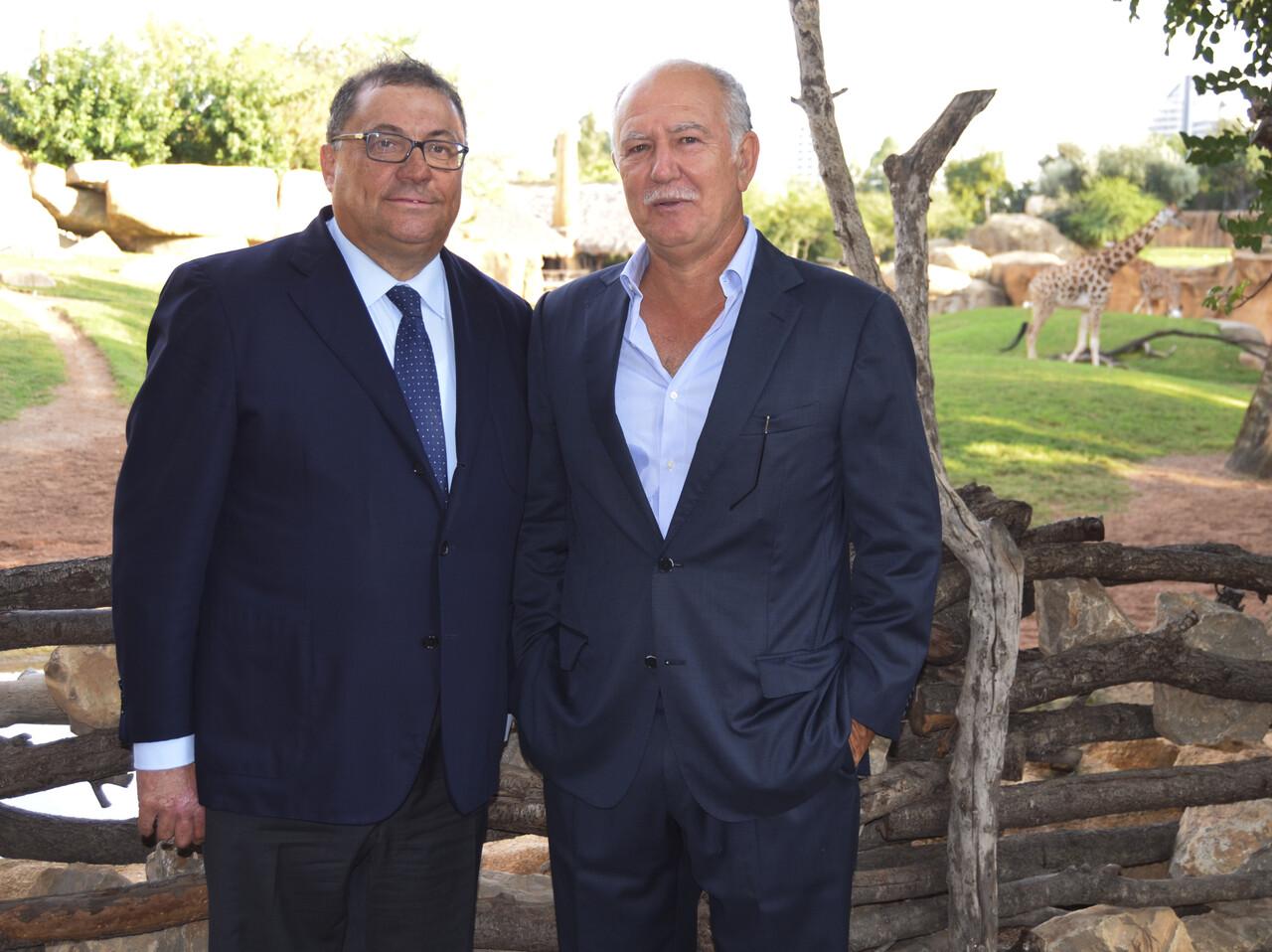 Ramon Agenjo, Fundación DAMM y José Maldonado, Fundación BIOPARC