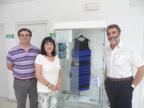 De izquierda a derecha los investigadores autores del estudio: Pedro Pardo, Isabel Suero y Ángel Luis Pérez