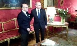 Reunión Fernandez Díaz y Cazeneuve en Roma