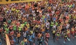 Salida del Medio Maratón.