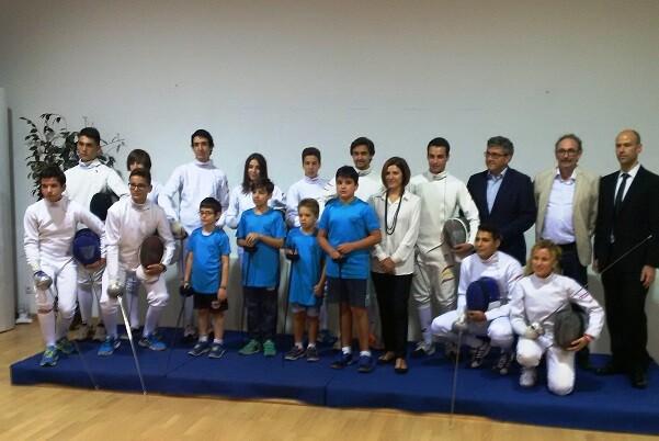 Se presentó el Club Esportiu Sala d'Esgrima Marítim Valéncia.