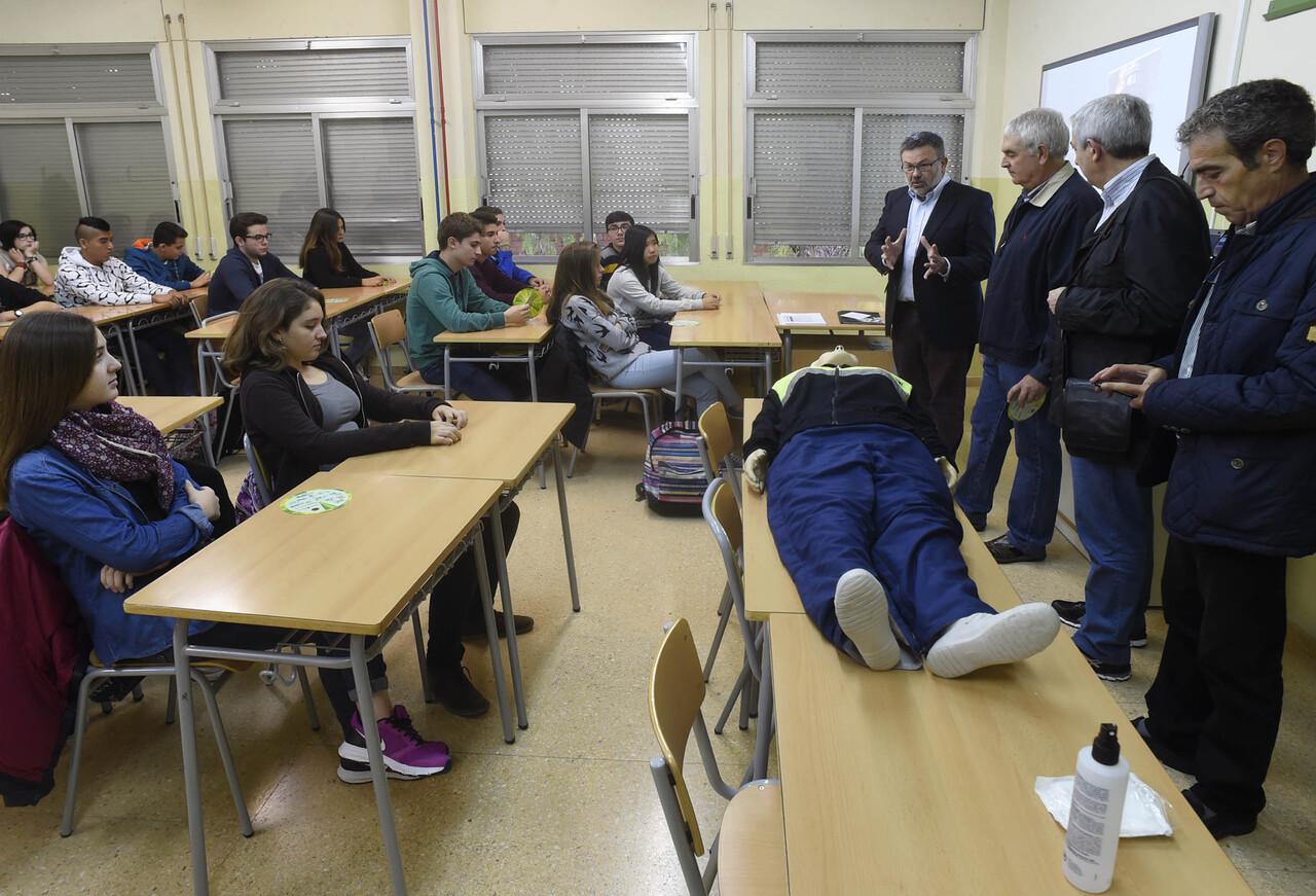 Toni Lorenzo charlas IES y colegios