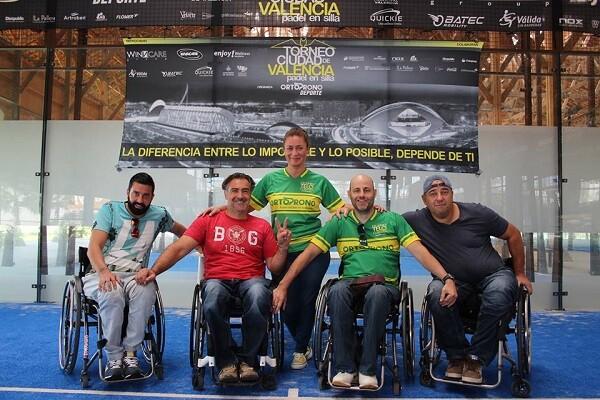 Torneo Ciudad de Valencia de Padel en Silla de Ruedas.