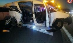 Un muerto y ocho personas heridas en un choque de tráfico en Sollana.