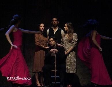 Un pasaje de la producción 'bodas de sangre'. (Foto-Valencia Noticias).
