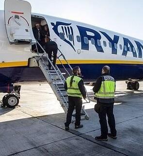 Uno de los vuelos en Alicante.
