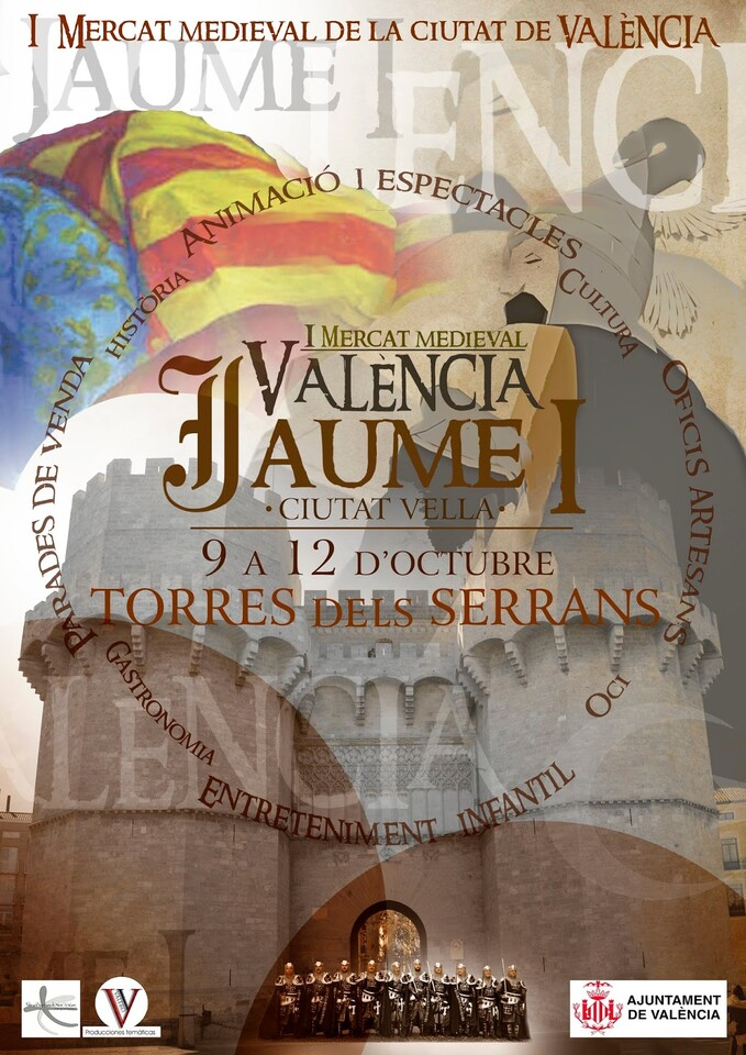 Valencia Mercado medieval 9 de octubre