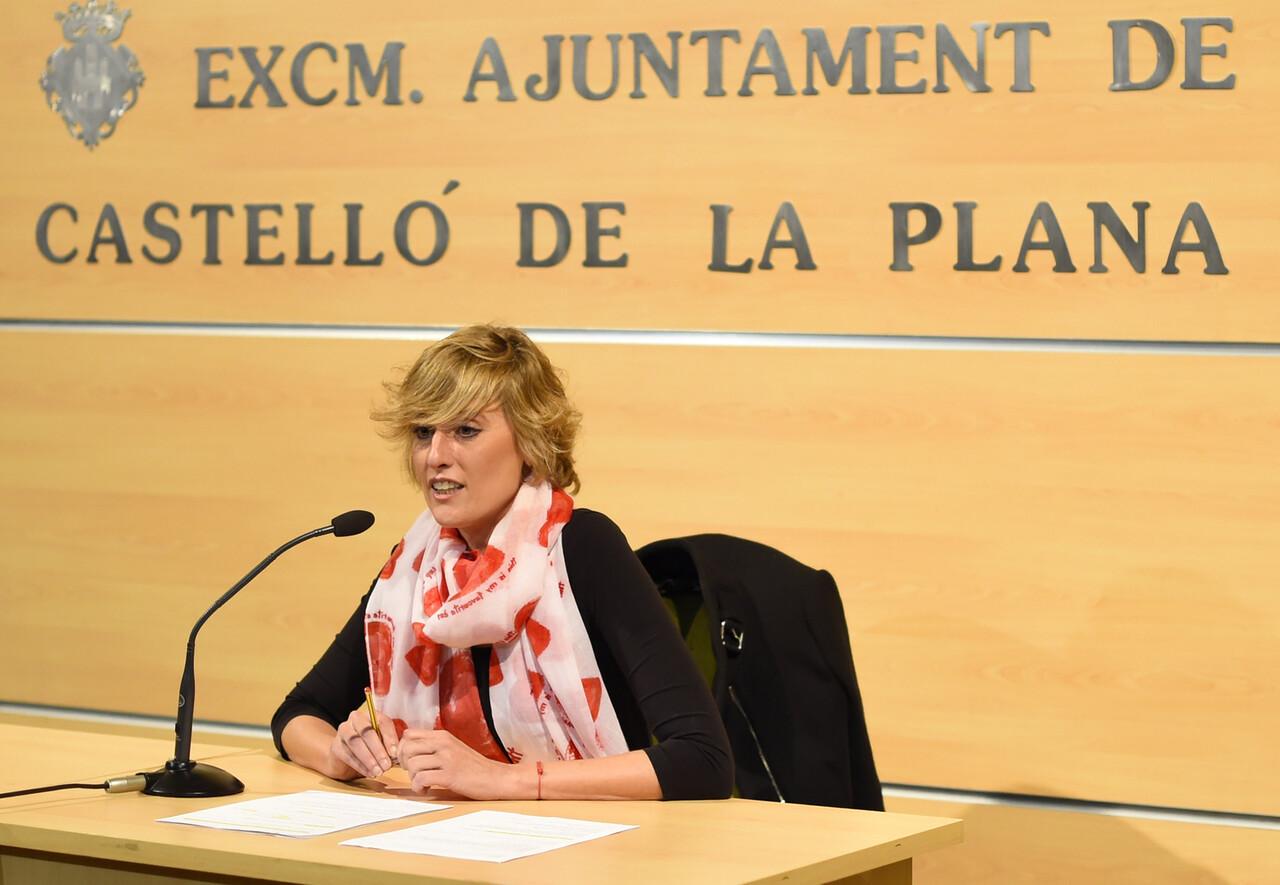 Verònica Ruiz, regidora de Cultura de l' class=