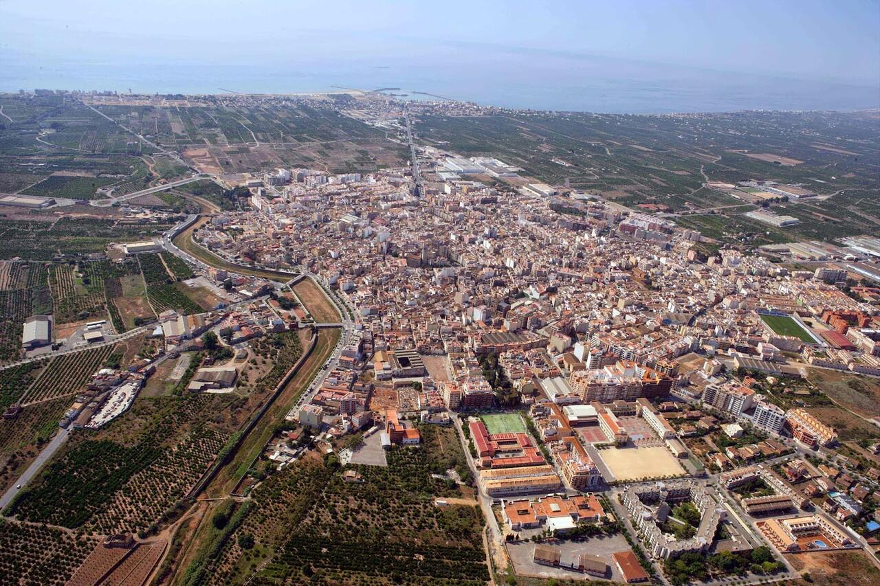 Vista aérea Burriana