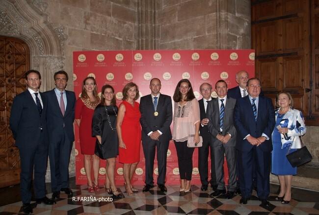 acto de entrega de los Premios Rey Jaime I 2015 celebrado en La Lonja farina (16)