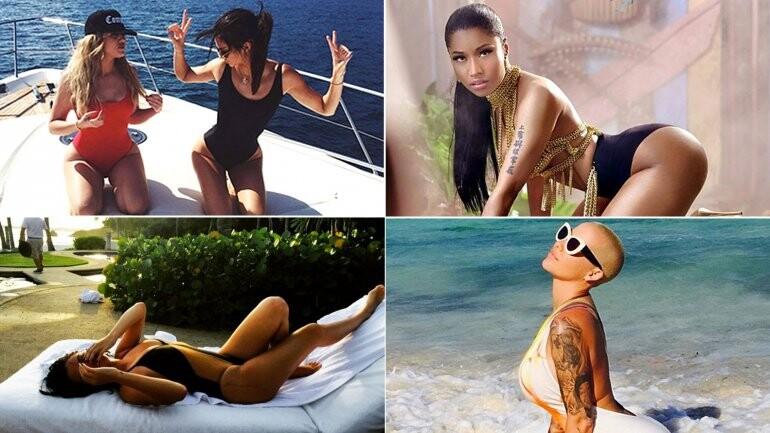 hloé Kardashian y Kendall Jenner muestra su cuerpo en Instagram (1)
