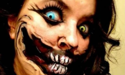 maquillarte para Halloween facil con creatividad, habilidad trucos (1)