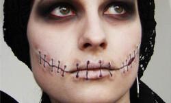 maquillarte para Halloween facil con creatividad, habilidad trucos (16)