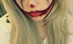 maquillarte para Halloween facil con creatividad, habilidad trucos (19)
