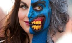 maquillarte para Halloween facil con creatividad, habilidad trucos (21)