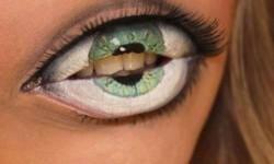 maquillarte para Halloween facil con creatividad, habilidad trucos (22)