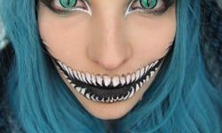 maquillarte para Halloween facil con creatividad, habilidad trucos (3)