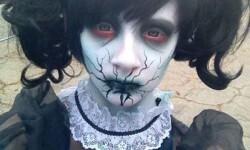 maquillarte para Halloween facil con creatividad, habilidad trucos (34)