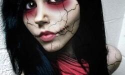 maquillarte para Halloween facil con creatividad, habilidad trucos (35)