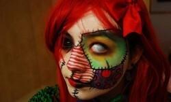 maquillarte para Halloween facil con creatividad, habilidad trucos (36)
